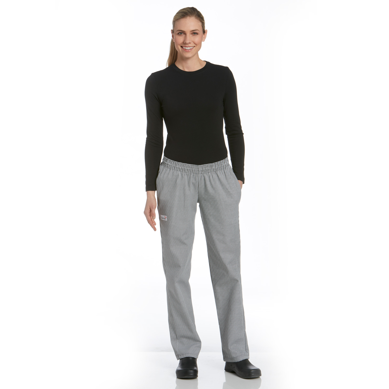 Women's Cotton Blend Low Rise Chef Pants (3950) | Chefwear