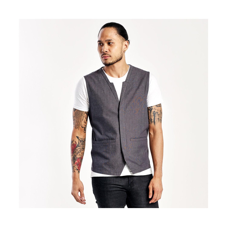 Restaurant server waitress uniforms greet wear by chefwear mens server uniform vest cw5330 m4hsunfo