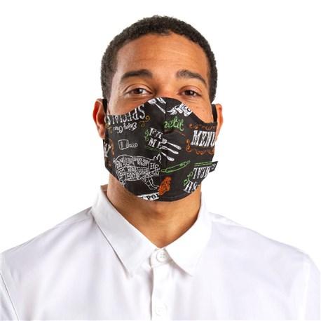 Face Mask with Elastic Ear Bands (CW1810) - Plat Du Jour - 3 Pack