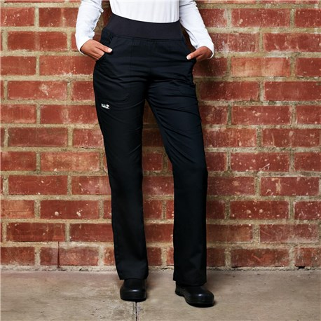 Women's Modern Cotton Pant With Comfort Waistband (CW3151)