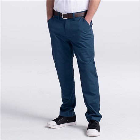 Slim Chefs Work Pant (CW3522) - Color Teal Blue