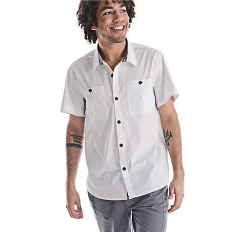 Unisex Quick Cool Short Sleeve Camp Shirt (CW4327)