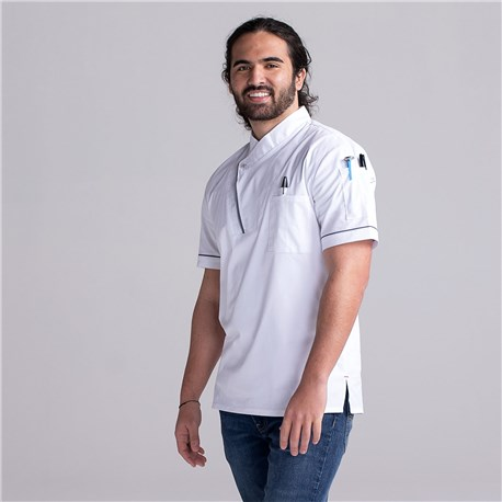 Lightweight Stretch Kitchen Shirt (CW4423) - Color White