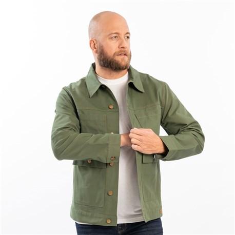 Unisex Slim Long Sleeve Canvas Work Jacket (CW5715)