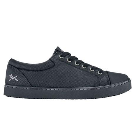 Mozo Grind Black Canvas Shoe (CW7310)