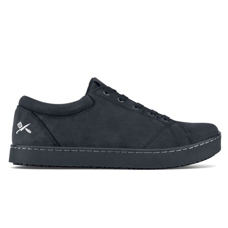 Women's Mozo Mavi Black Leather Shoe (CW7336)