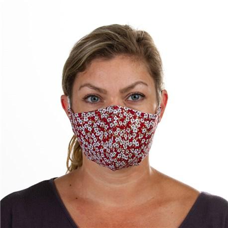 Face Mask (L10001) - Black White Red - 3 Pack