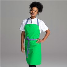 Chefwear Green Bib Apron for Chefs and Cooks, Chef Wear Style CW1692