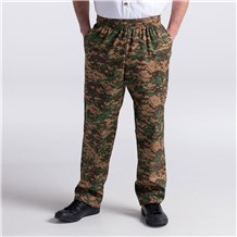Ultimate Cotton Chef Pants - CW3500 - Camo Print - Men