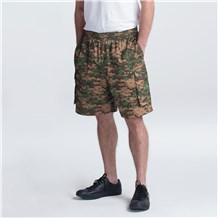 Cargo Cotton Chef Shorts (3850) - Camo Print