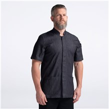 CW4945-CW211-01_Chefwear-Memphis-Kitchen-Shirt_Black-Denim