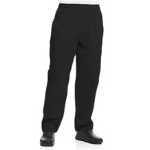 Coed Black Baggy Cotton Chef Pant (5102)