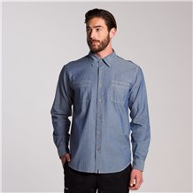 Men's Le Fermier Chambray Shirt (CW1343)