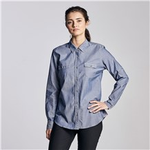 Women's La Fermiere Chambray Shirt (CW1344)