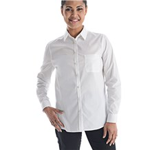 Women's Slim Long Sleeve Stretch Poplin Shirt (CW1361)