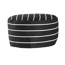 Chef Skull Cap - Horizontal Stripe (CW1430H)