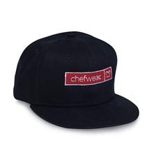 Flat Bill Snapback Chefwear Logo Cap (CW1485)