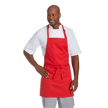Plain Front Adjustable Bib Apron (CW1649)