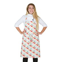 Classic Cotton Bib Apron (CW1650H) [Holiday Deer]