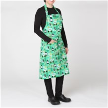 Classic Cotton Bib Apron (CW1650H) [Luck of the Irish]