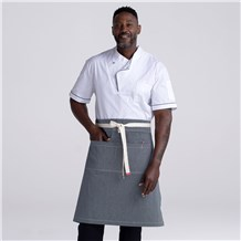 Extra Coverage Denim 2 Pocket Waist Apron (CW1679)