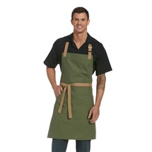 Canvas Multi Pocket Market Bib Apron (CW1685)