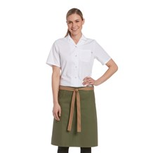 Canvas Kangaroo Pocket Waist Apron (CW1688)