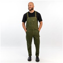 Unisex Classic Stretch Twill Chef Overalls (CW3405)