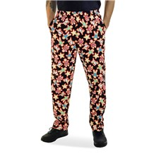 Unisex Classic Ultimate Cotton Chef Pant (CW3500H) [Gingerbread Men]
