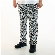Unisex Classic Ultimate Cotton Chef Pant (CW3500H) [Scary Collage]