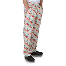 Ultimate Cotton Chef Pants (CW3500H) [Holiday Deer]