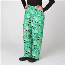 Ultimate Cotton Chef Pants (CW3500H) [Luck of the Irish]