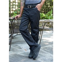 Men's Modern Stretch Cooling Pant with Zip Fly, Elastic Back Waist (CW3523)