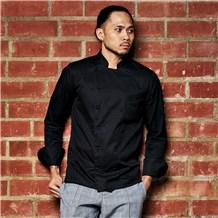 Men's Long Sleeve Executive Euro Fit Chef Coat (CW4101)