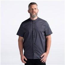 Unisex Relaxed Short Sleeve Restaurant Work Shirt (CW4320)