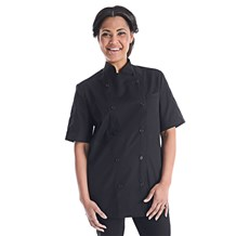 Unisex Modern Essential Short Sleeve Chef Coat (CW4413)