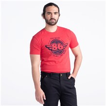86 Super Soft Crew Neck Tee (CW4660) - Red