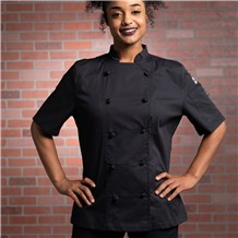 Fair Kitchens Women's Chef Jacket (CW5122FK)