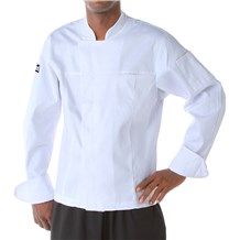 Hidden Button Placket Chef Jacket (CW5180)