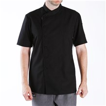 Short Sleeve Vented Chef Jacket (CW5601)