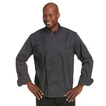 Classic Executive Chef Coat (CW5690) - Graphite