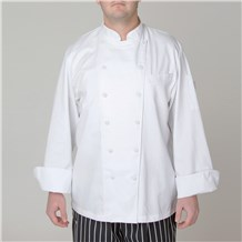 Classic Executive Chef Coat (CW5690) - White