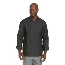 Lightweight Denim Crossover Chef Jacket (CW5886)
