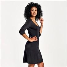 Women's Ponte Knit Dress (CW6000)