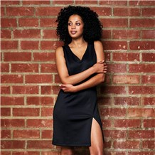 Women's Sleeveless Ponte Knit Dress (CW6001)