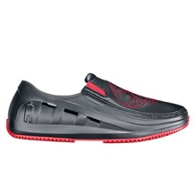 Mozo Red Skull Slip On Chef Shoes (7120)