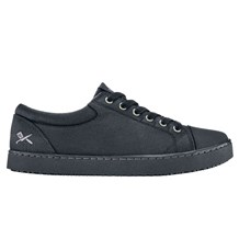 Mozo Grind Black Canvas Shoe (CW7310)