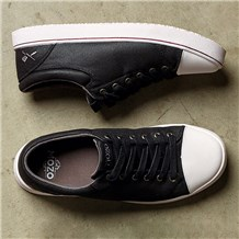 Mozo Grind Black/White Canvas Shoe (CW7315)