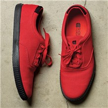 Carter Red Canvas Shoe (CW7320)