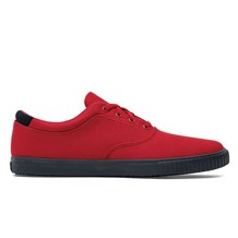 Women's Carter Red Canvas Shoe (CW7321)